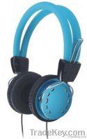 high class multimedia metallic stereo headphone H08004BL