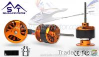 RC airplane of Outrunner brushless motors 2410