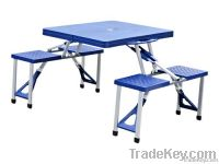 Outdoor Plastic Folding/picnic Table