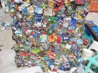 Tin Cans Scrap in Bales