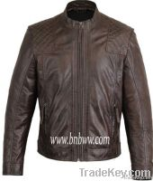 High Quality Winter Men's Fashion Leather Jacket