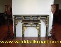 Handpainted deco furniture