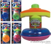 UFO Toy Top with Flashing Light
