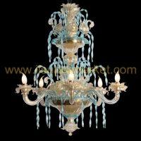 Murano chandelier Ca' Loredan 6 lights