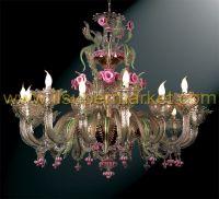 Murano chandelier Contarini 16 lights