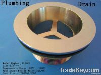 Brass drain