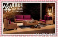 wicker sofa1003-1
