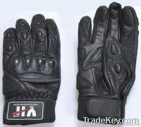Motorbike Leather Glove