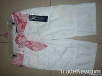 Capri Jeans with Fancy Belt