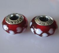 Murano Glass Charm With s925 ALE Marked