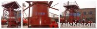 Closed copper ore and concentrate smelting matte furnace