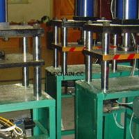 Chaton fixing machine, cup chain stone setting machine