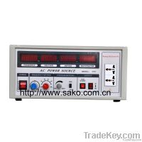 Variable Frequency Power Supply(AC Power Source) 500VA, 1000VA