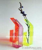acrylic flower vase, gift