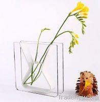 Acrylic Flower Vase, colorful