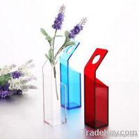 Acrylic Flower Vase, desk vase