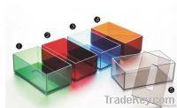 Acrylic Tissue box, useful hotel napkin box