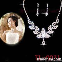 Fashion bridal necklace set