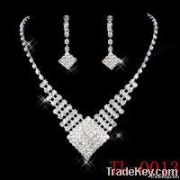 Fashion bridal necklace jewelry necklace set