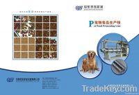 Dog food processing line
