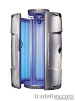 Vertical tanning beds
