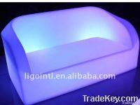 Waterproof Plastic Lighted Sofa
