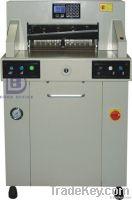 Hydraulic electric paper cutter
