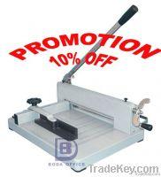 Guillotine paper cutting machine