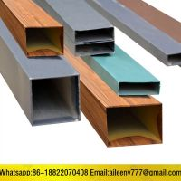 Color Coated 6063 T5 Aluminum Square Pipe