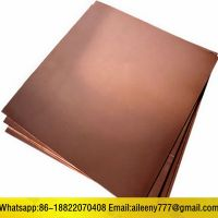 C18200 Chrome Copper Alloy Sheet