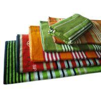 Stripe Velor Towel