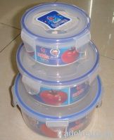 Plastic Food Boxes Set