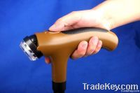 Hot sell crank led walking stick with siren function