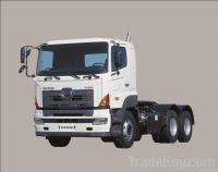 Hino 100t GCW, 6X4 Tractor Truck