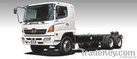 Hino 26t GVW, 6X4 Truck