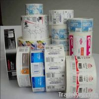 Professionally provide OEM sticker printing service