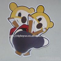 2011 promotional cartoon sticker for Christmas