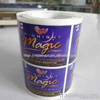 2011 top hot adhesive label sticker