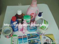 Printing bottle label for beverage bottle