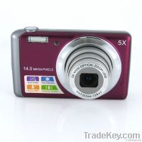 Winait's 14MP CCD digital camera with 5X optical zoom and 3