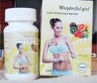 Wonderful Girl Fruit Slimming Weight Loss Capsule