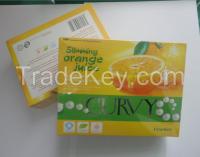 Healthy and Curvy Slimming Orange Juice