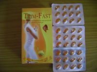 Natural Slimming Capsules Trim Fast Golden Softgel Weight Loss Supplements