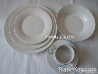 12/16/18/20/24/30 pieces white porcelain dinner set