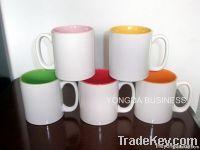 ceramic mugs / cups, glazed color porcelain mugs
