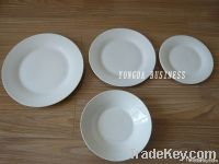 white porcelain dishes and plates