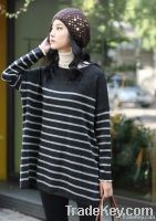 Fashion Stripe Leisure Sweater