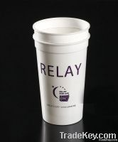 Plastic stadium cup