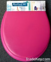 Toilet Seat with Open Front