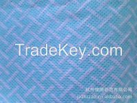 colorful printed spunlace nonwoven fabric